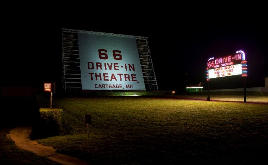 66 DRIVE IN THEATER: CARTHAGE, MISSOURI