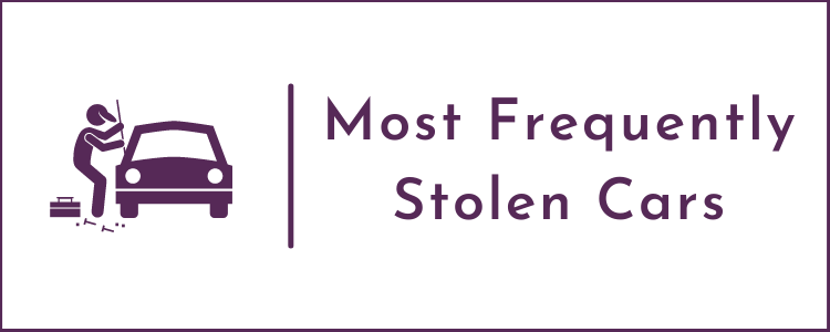 Most Frequently Stolen Cars