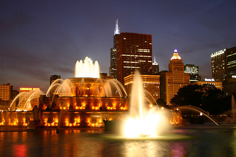 GRANT PARK: CHICAGO, ILLINOIS