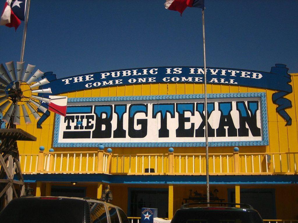 THE BIG TEXAN: AMARILLO, TEXAS