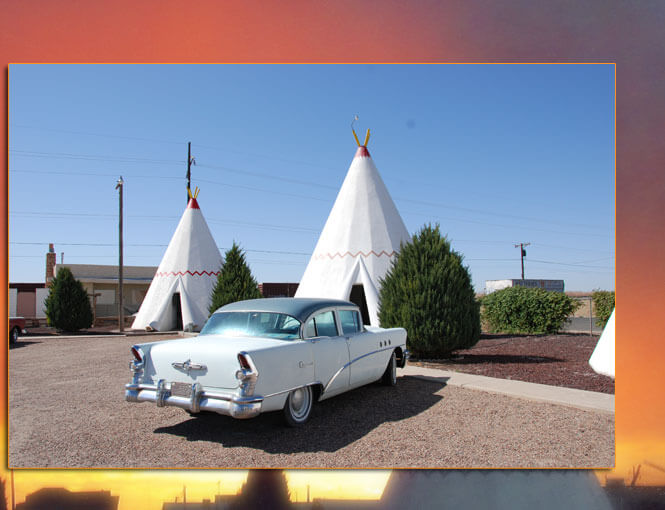 WIGWAM VILLAGE MOTEL #6: HOLBROOK, ARIZONA