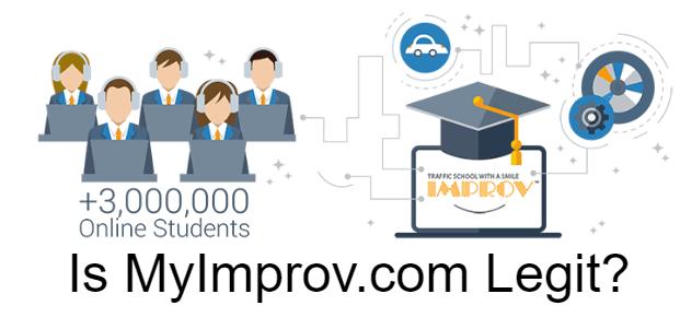 Is Improv Traffic School Legit?