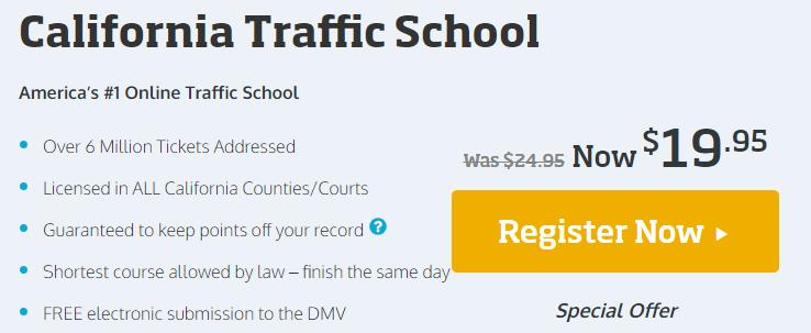 California Traffic School Online Course